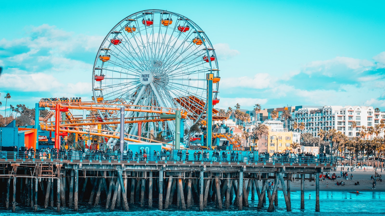 Rides on the Santa Monica Pier