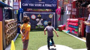 LA Galaxy Penalty Kick Game on the Santa Monica Pier