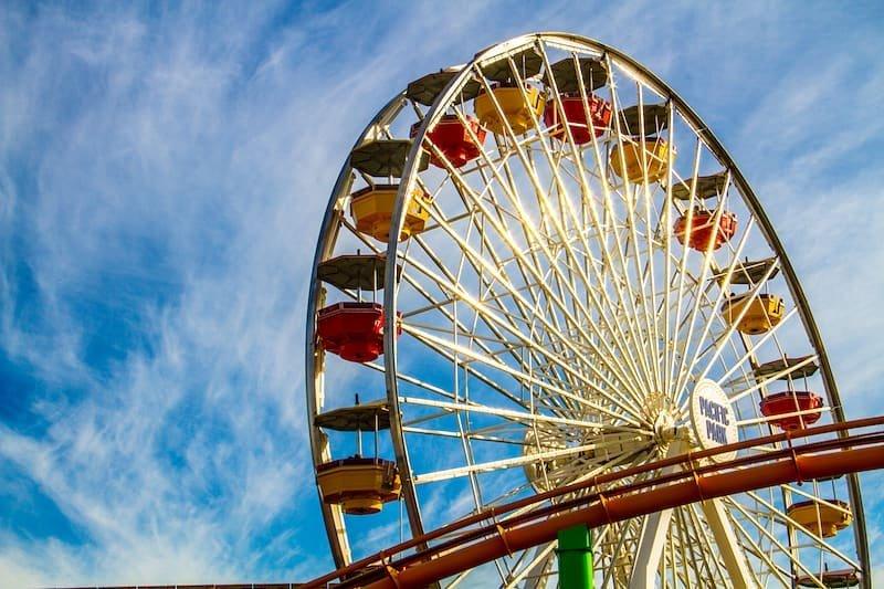 Ferris Wheel on the Santa Monica Pier