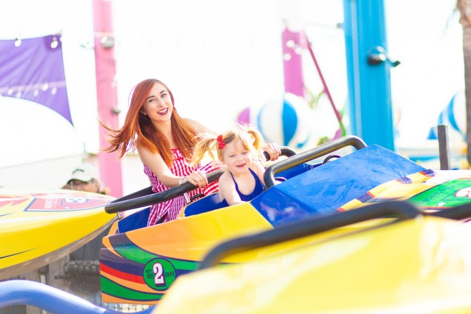Mommy and Me Rides at Pacific Park Wave Jumper
