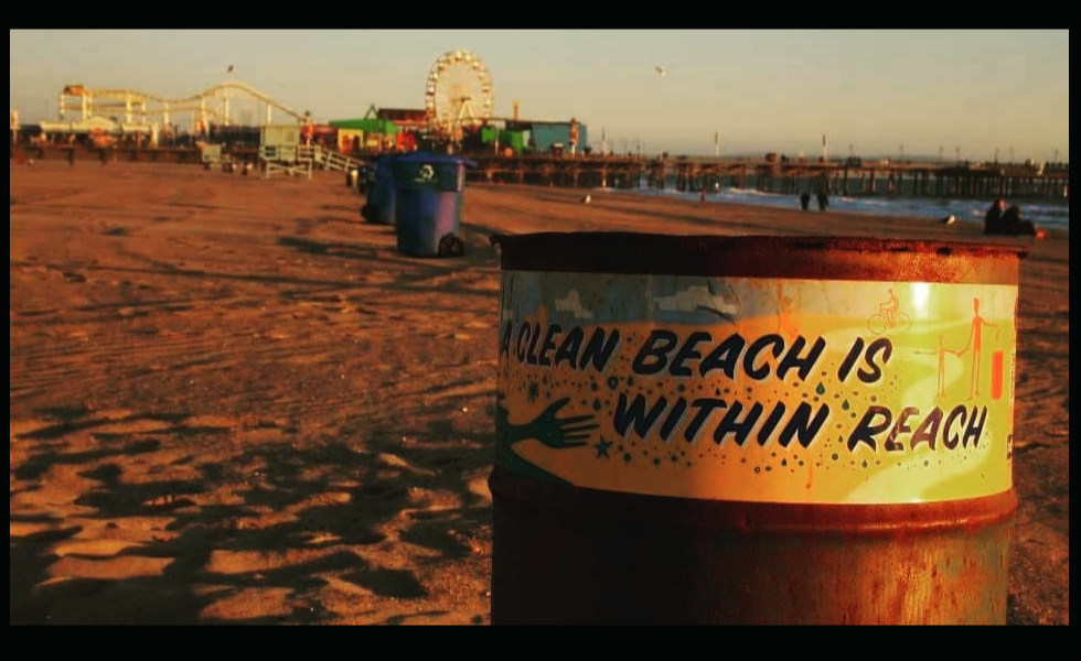 Keep Santa Monica beaches clean