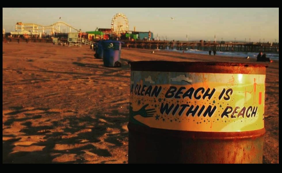 Keep Santa Monica beaches clean