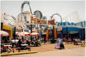 Pacific Park entrance in 1998
