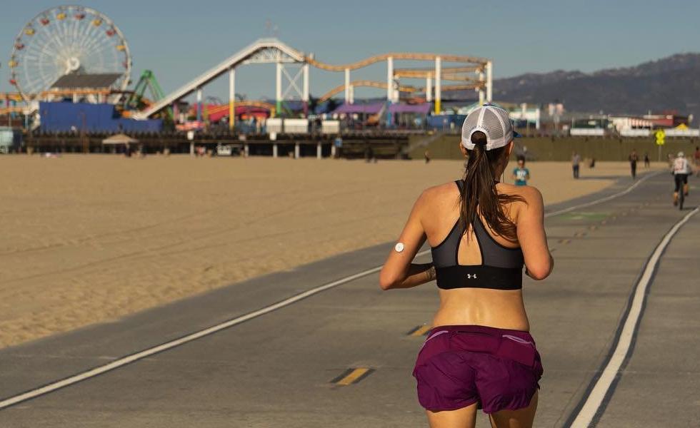 Running Santa Monica