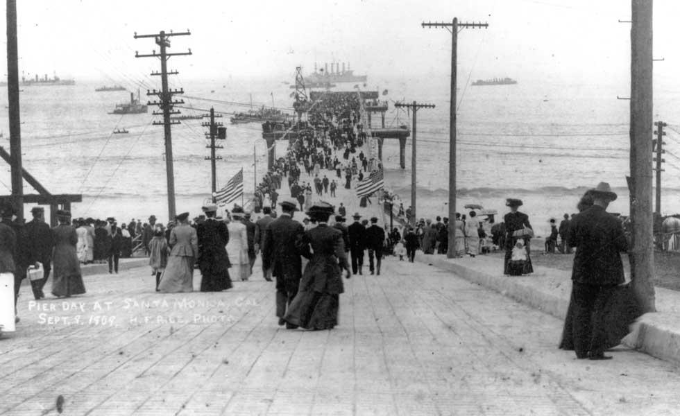 Santa Monica Pier 1909