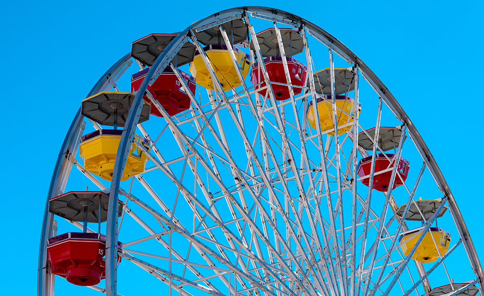 Five best Ferris wheels United States