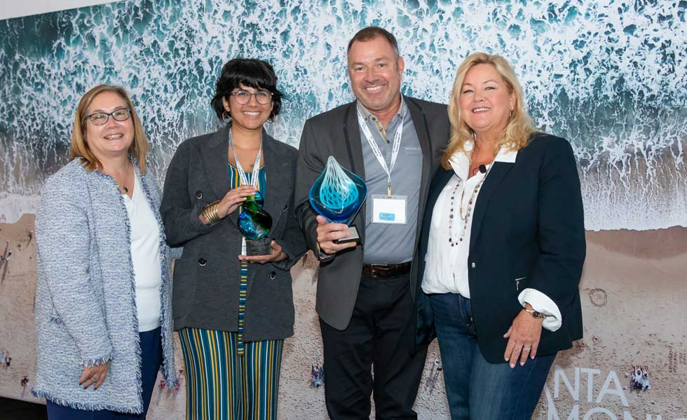 Pacifc Park receives Jeff King Santa Monica Tourism Award