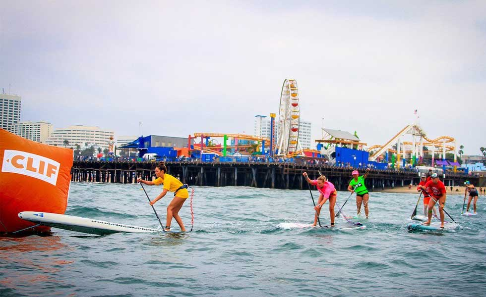 Pier 360 Santa Monica Pier Paddleboarding
