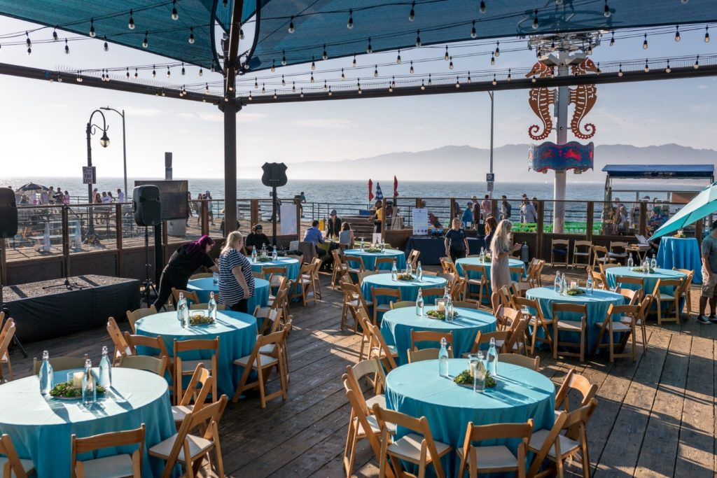Pacific Park Event Space on the Santa Monica Pier