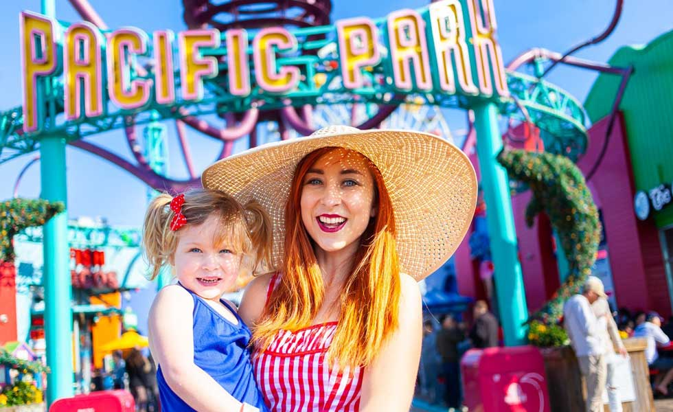 The Healthy Mouse mommy-daughter date Pacific Park