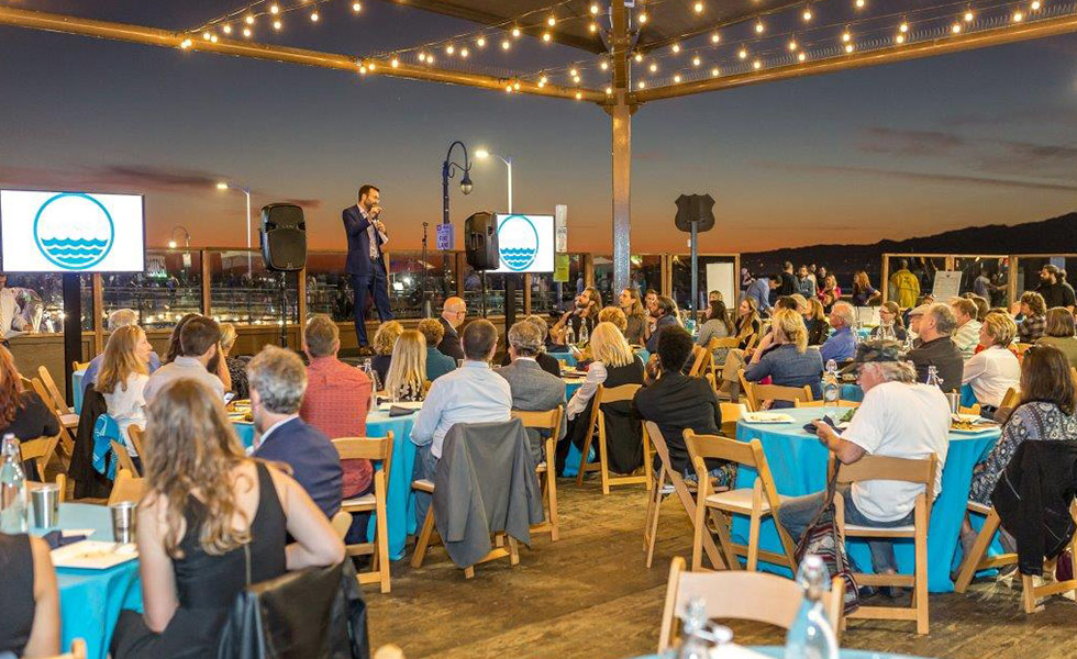 Hosting corporate events on the Santa Monica Pier