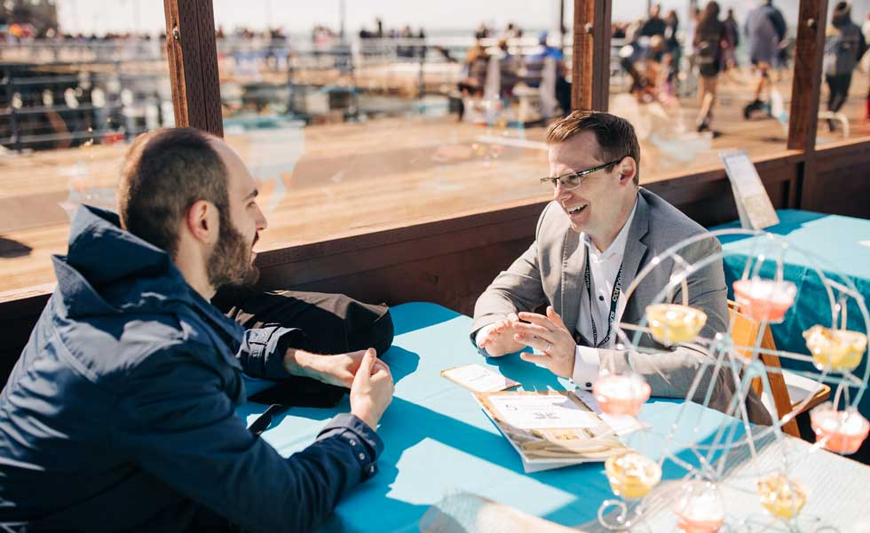 Luxury Connections Speed Networking at the Santa Monica Pier