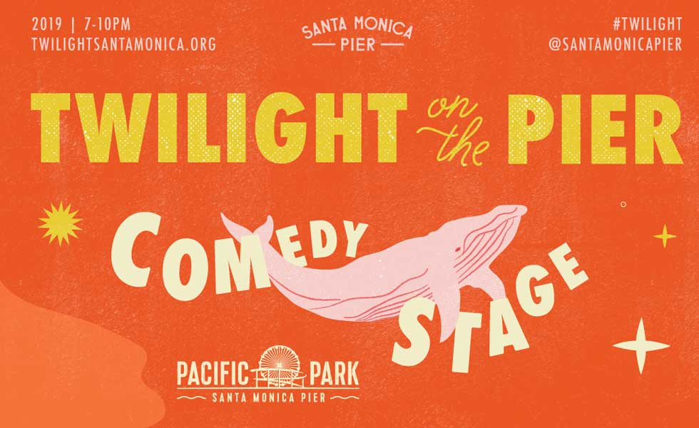 Twilight on the Pier Comedy August 21
