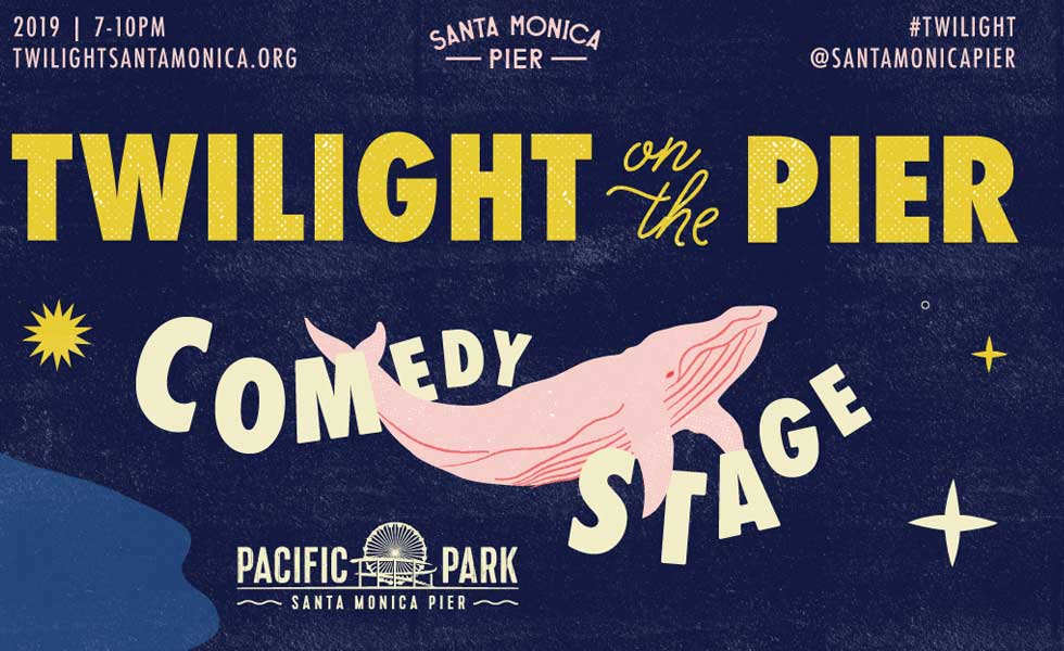 Twilight on the Pier Comedy August 28