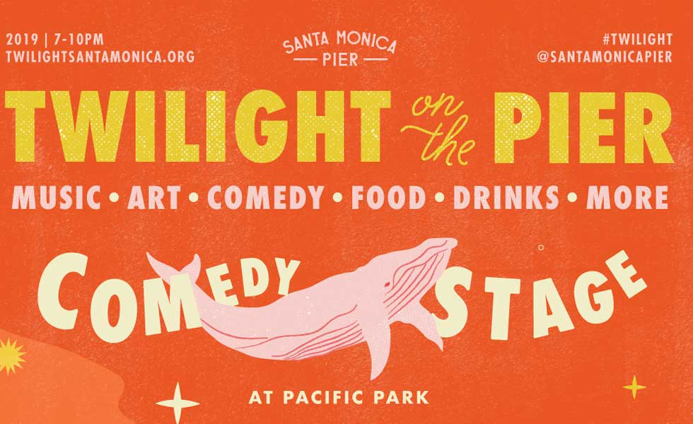Twilight on the Pier Comedy Stage
