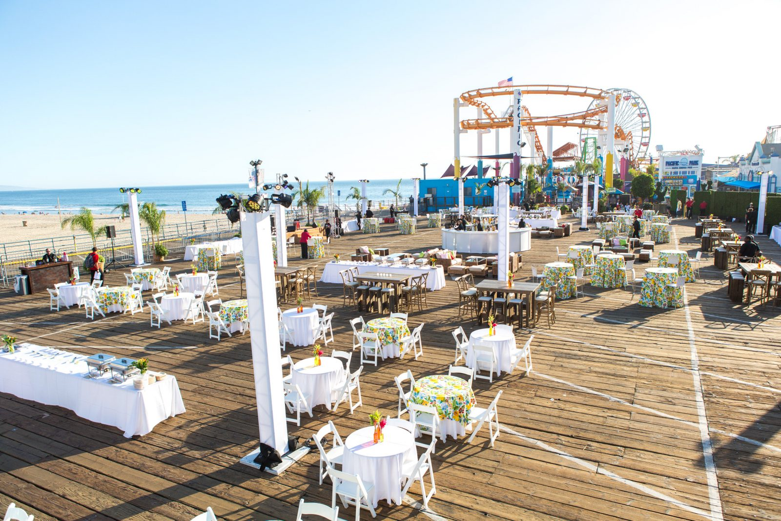 Events on the Santa Monica Pier