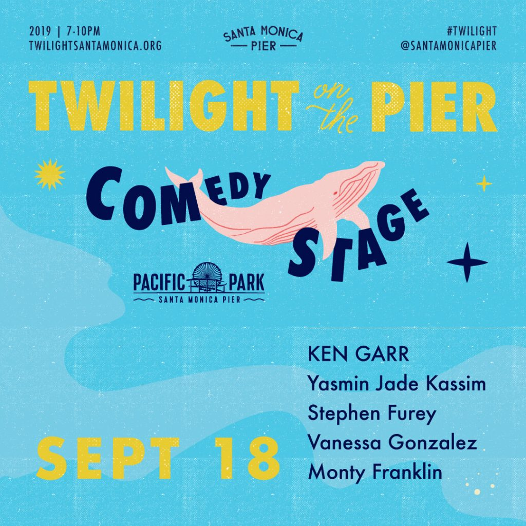 PacPark Comedy Lineup Sept 18