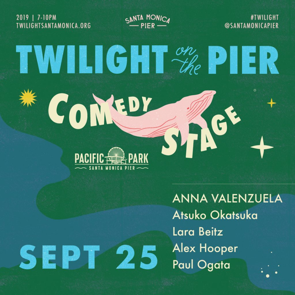 PacPark Comedy Lineup Sept 25