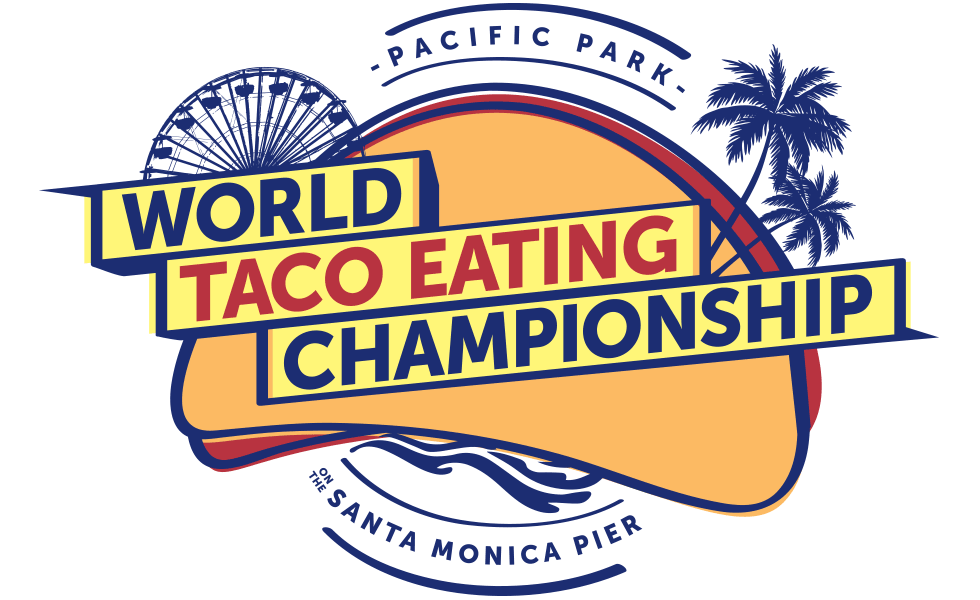 Pacific Park Taco Eating Championship 2018 Winner Joey Chestnut