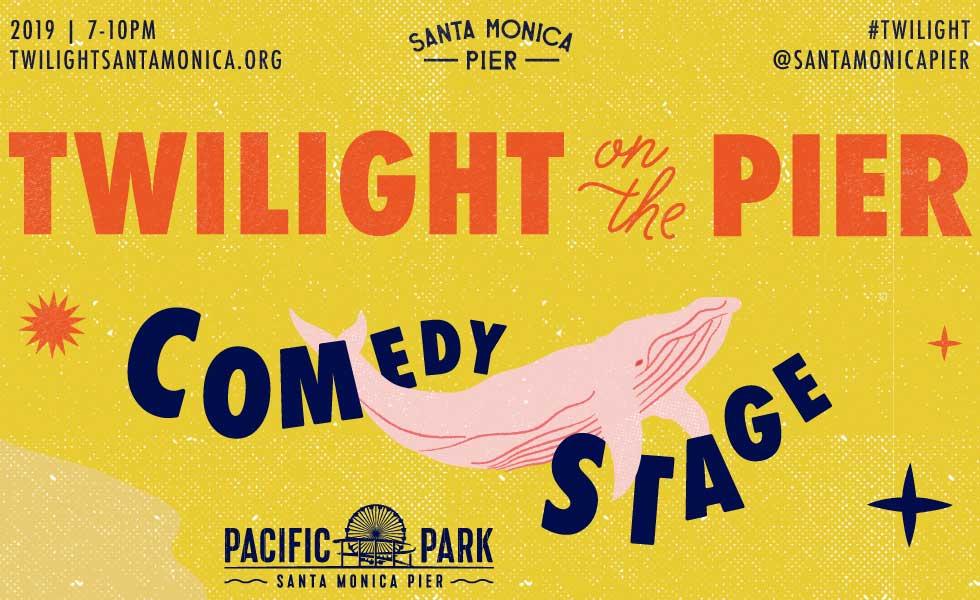 Twilight on the Pier Comedy September 11