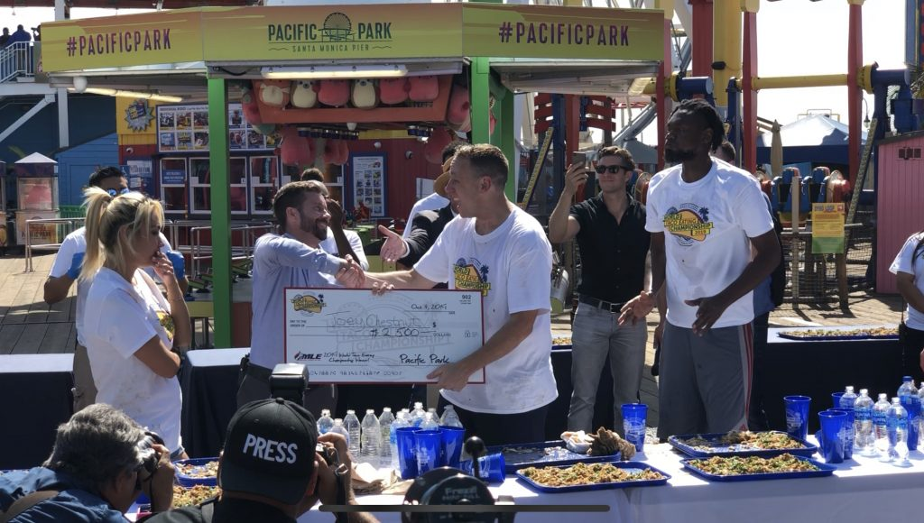2019 Pacific Park Taco Championship Winner Chestnut