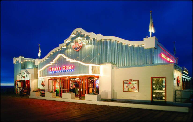 Bubba Gump Santa Monica Pier