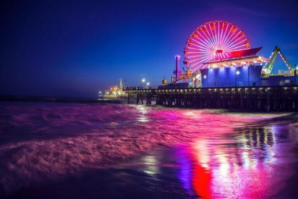 Pacific Park on the Santa Monica Pier Movie Landmark