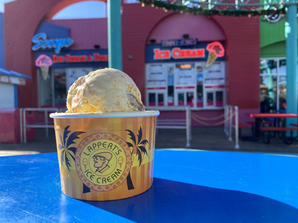 Kumquat Caramel Date Ice Cream