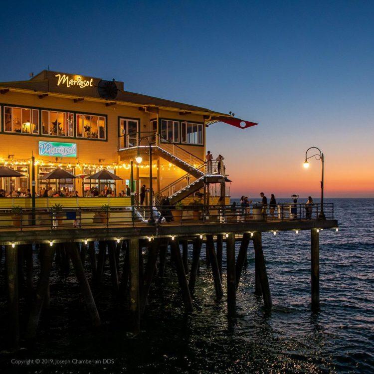 Mariasol on the Santa Monica Pier