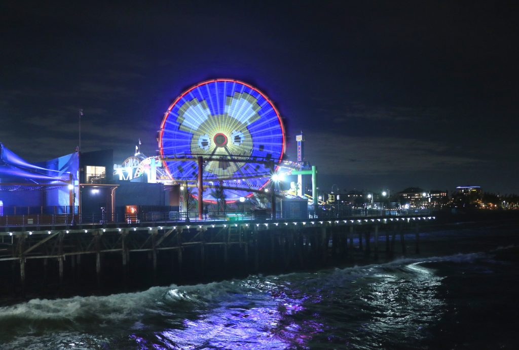 Year of the Rat at Santa Monica Pier
