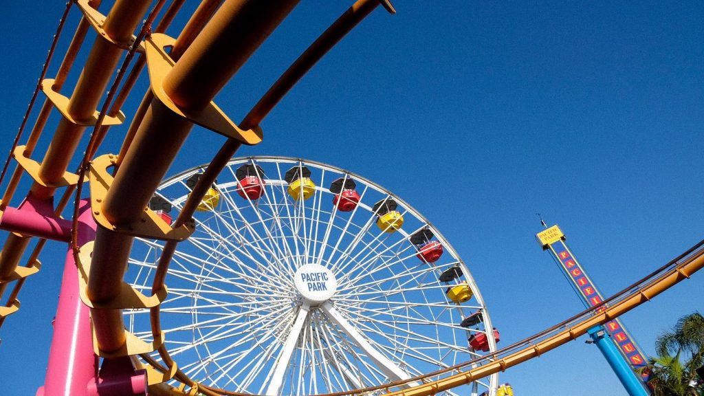 Pacific Wheel on the Santa Monica Pier