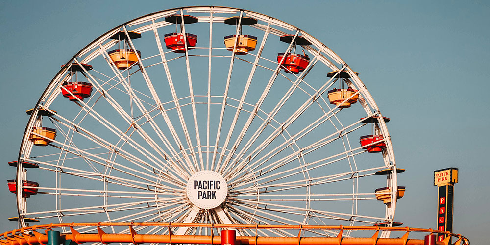 Pacific Wheel at Pacific Park