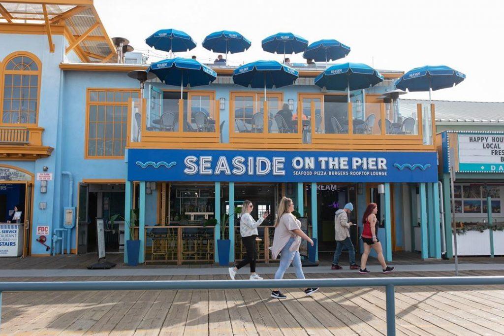 Seaside on the Pier Entrance