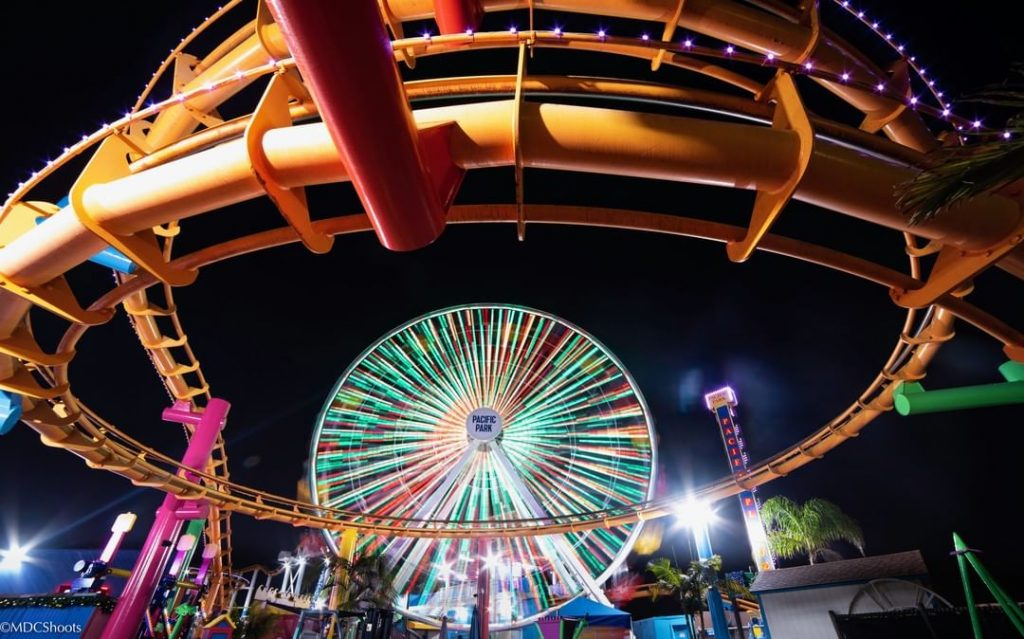 Pacific Park Ferris Wheel photo by @mdcshoots on Instagram