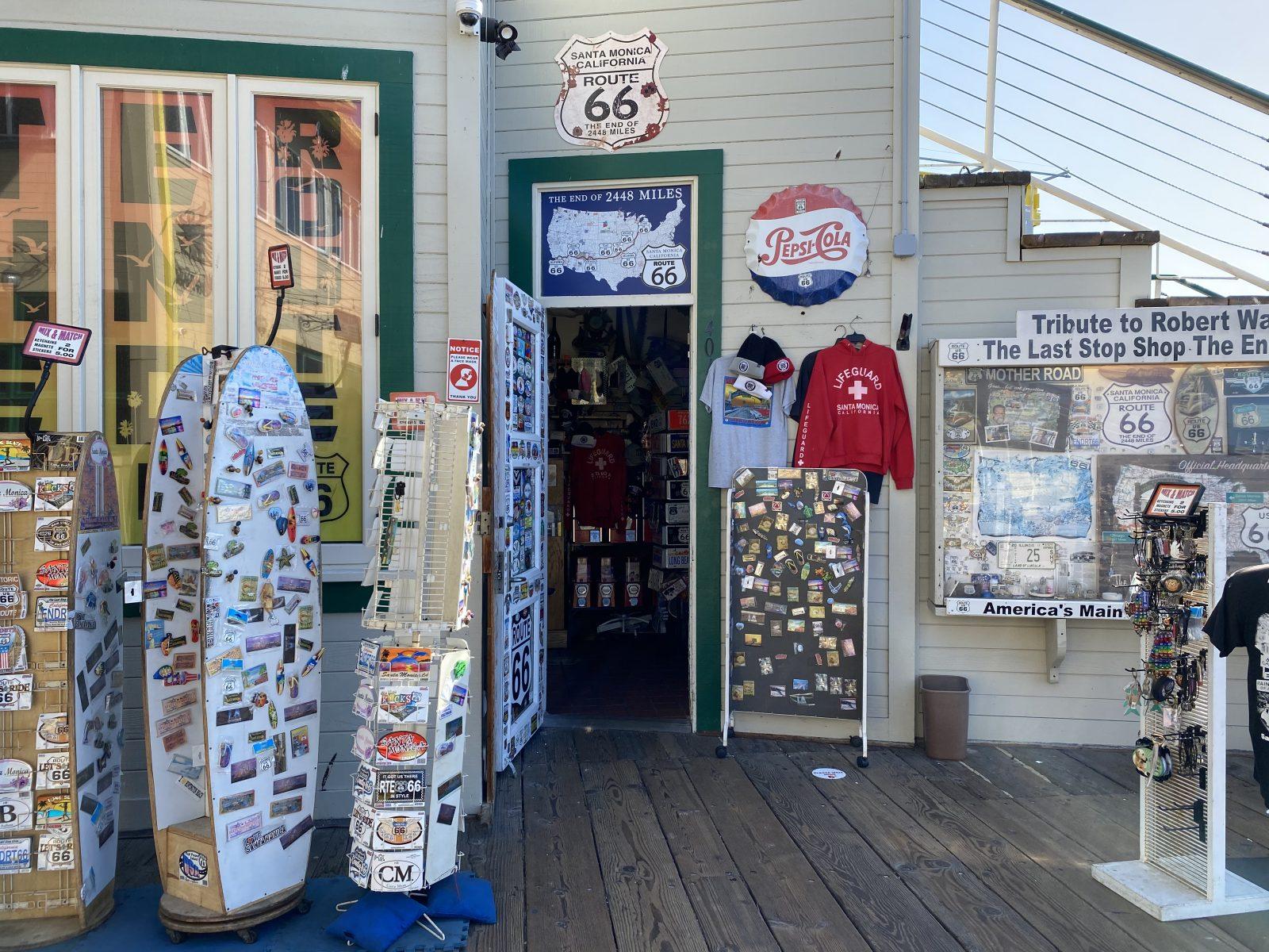 Santa Monica Pier Bait and Tackle Shop