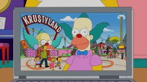 Krusty at Krustyland