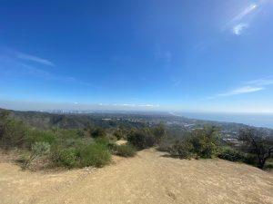 Temescal Canyon overlooking the Santa Monica Coastline