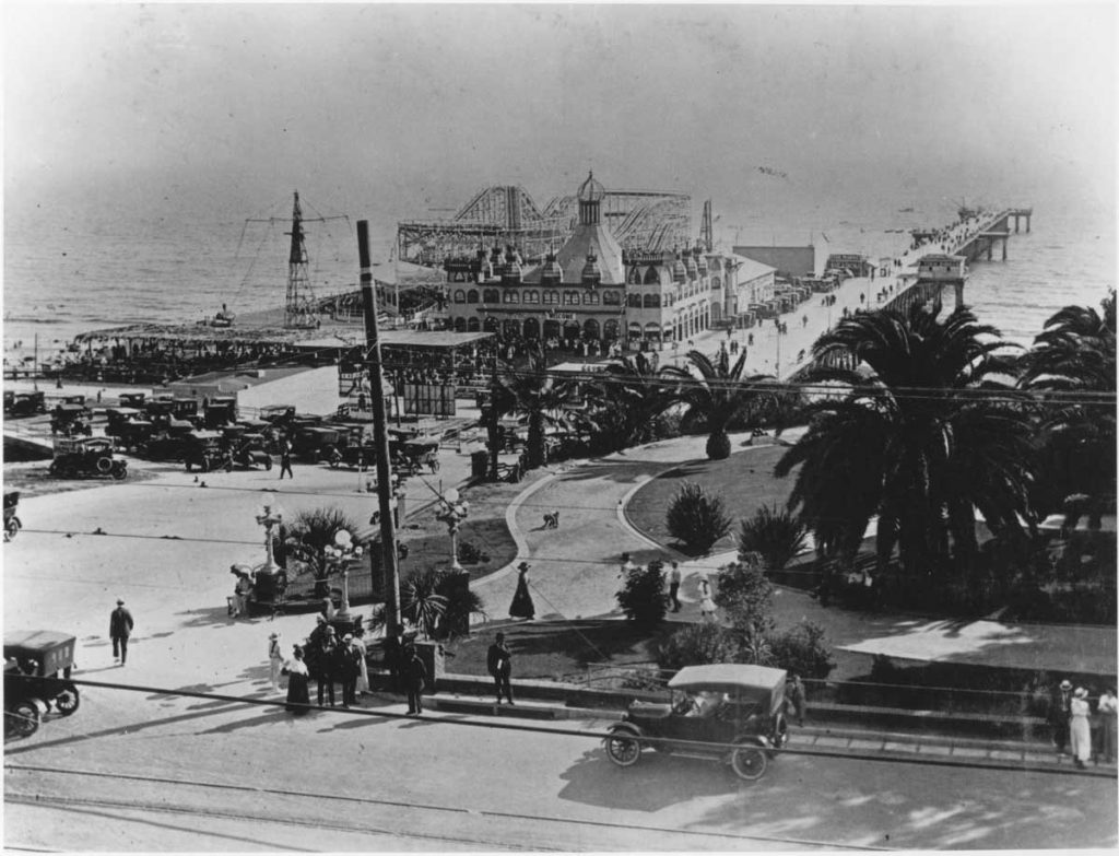 The Santa Monica Pier First Opened in 1909