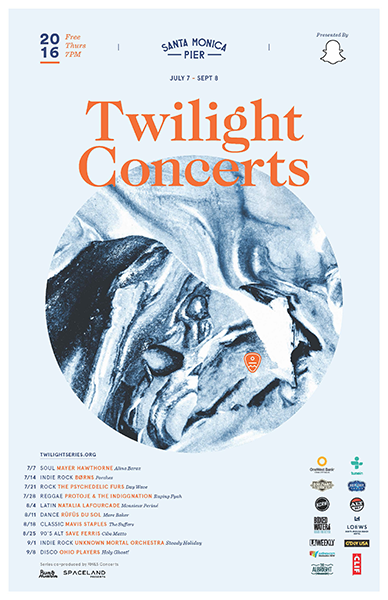 Poster from the 2016 Twilight Concert Series