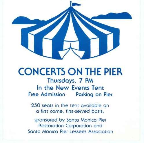 Flyer from the first year of Twilight Concert Series