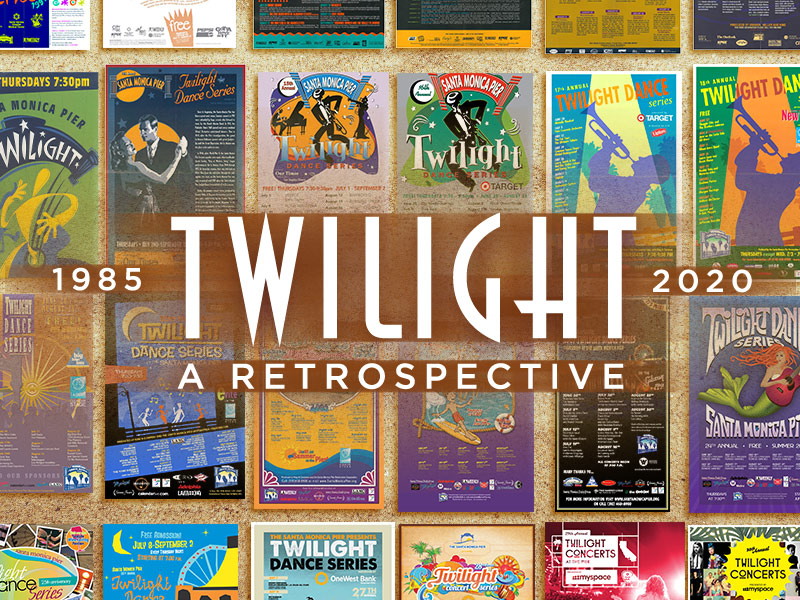 Twilight A Retrospective 1985-202 Santa Monica Pier