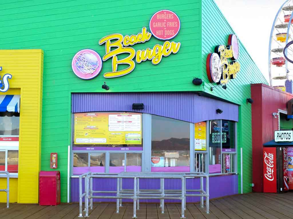 Beach Burger exterior