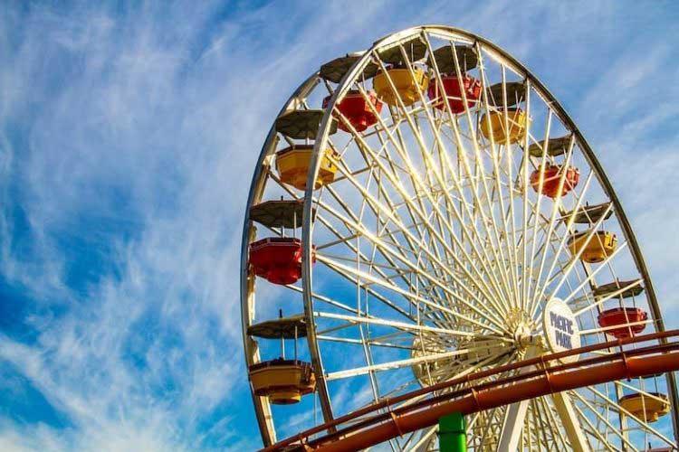 Pacific Wheel Ferris wheel on the Santa Monica Pier