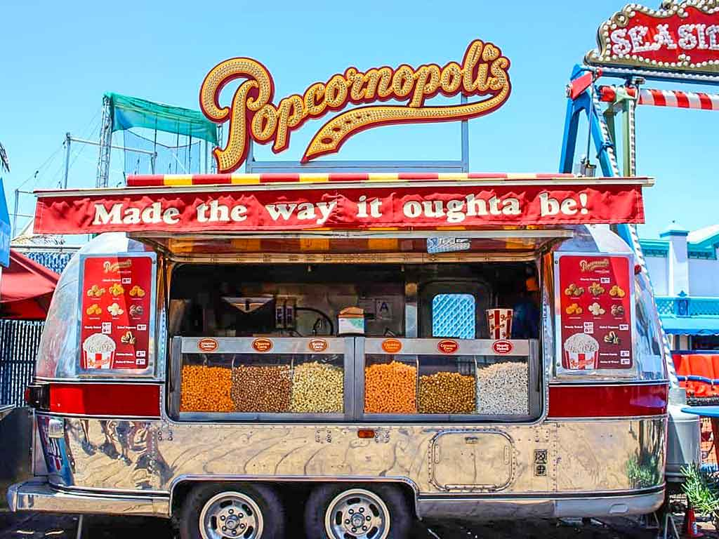 Popcornopolis Airstream Trailer