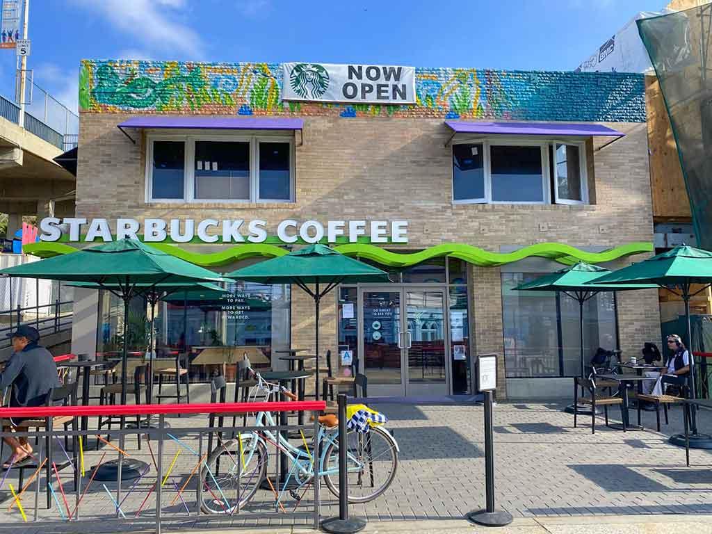 Starbucks on Ocean Front Walk