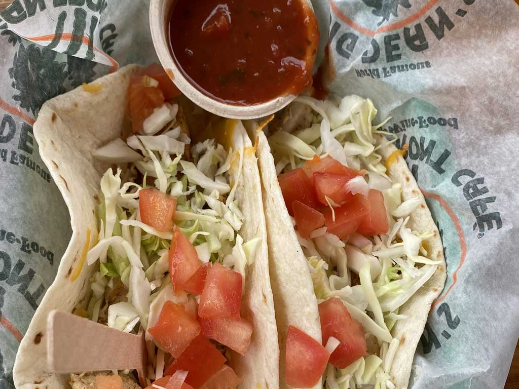 Fish Tacos from Big Dean's