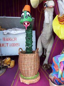 Snake marionette