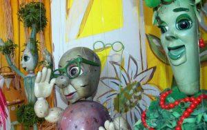 Vegetable marionettes
