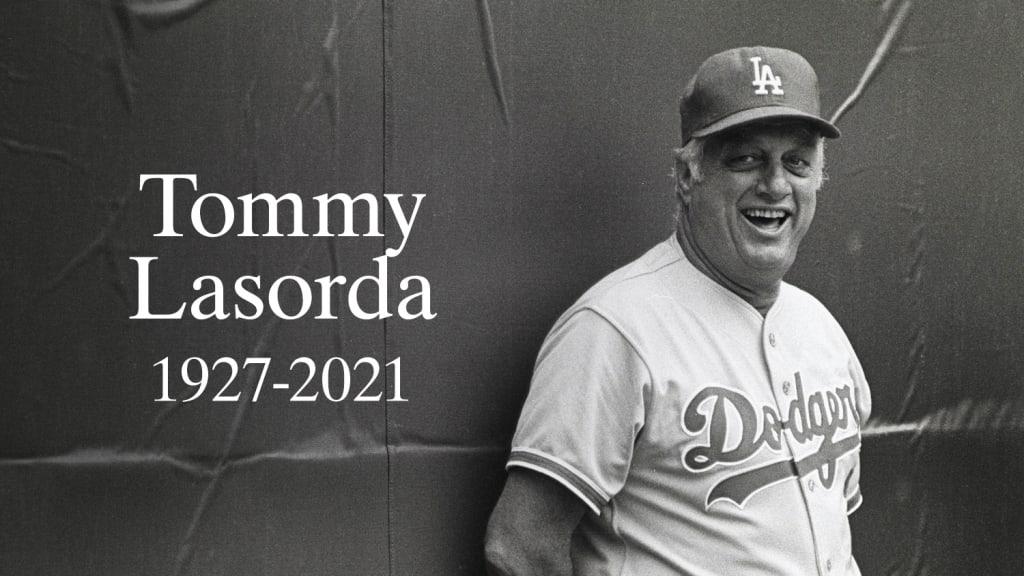LA Dodger Tommy Lasorda (1927 - 2021)