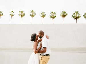 Couple at LA County Museum of Art